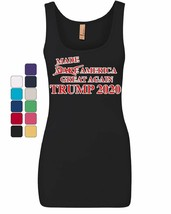 Made America Great Again Women's Tank Top President Donald Trump 2020 Top - $12.35+
