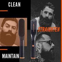 Tame's Easy Glide Beard Straightener - Fast Anti-Scald Beard Straightening Comb  image 8