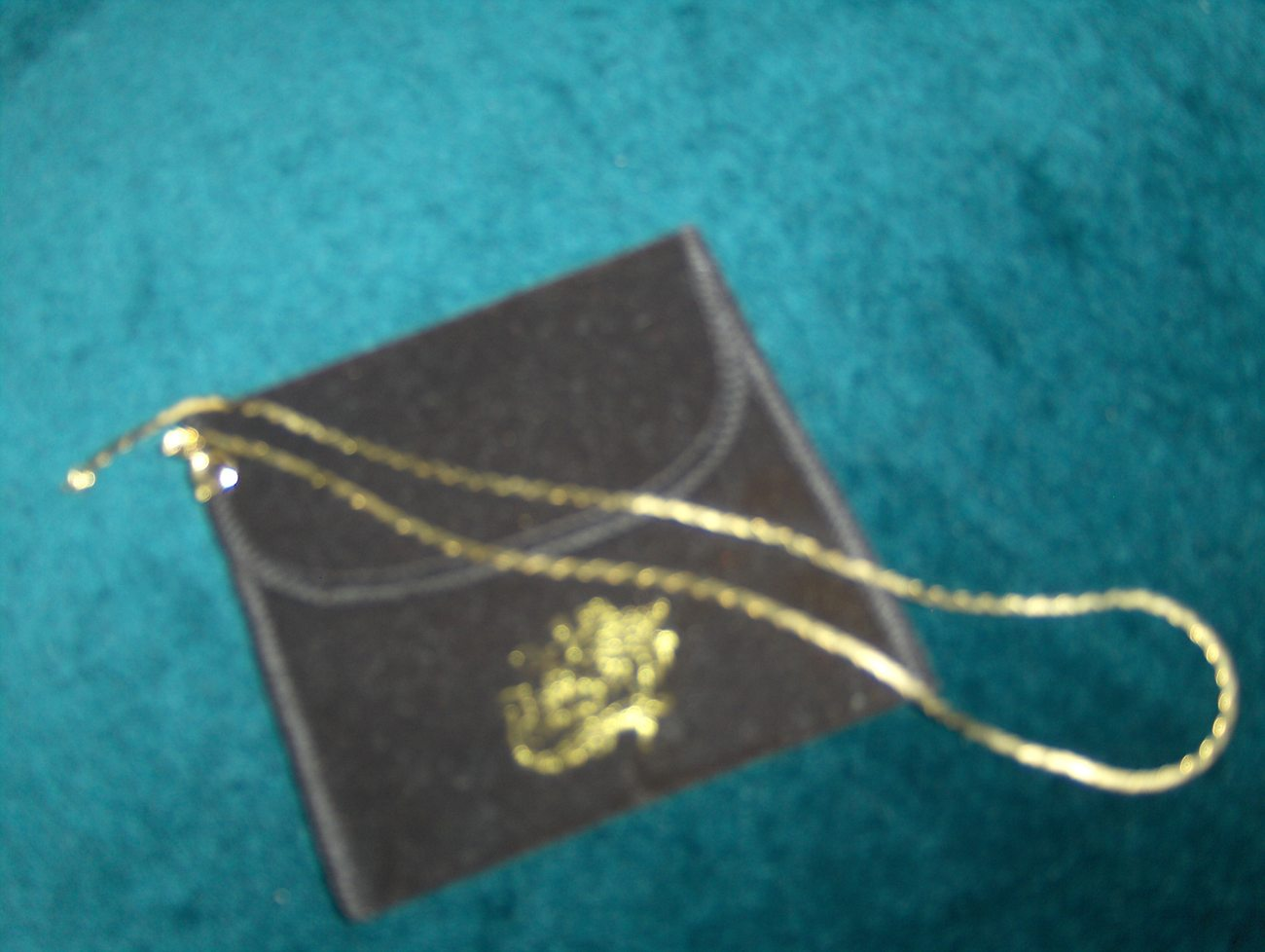 Fabrini Collection Gold Snail /C-link Necklace 21 inch Italy