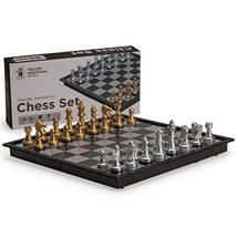 Magnetic Travel Chess Set Board Game Juego De Ajedrez New Free Shipping,... - $12.57