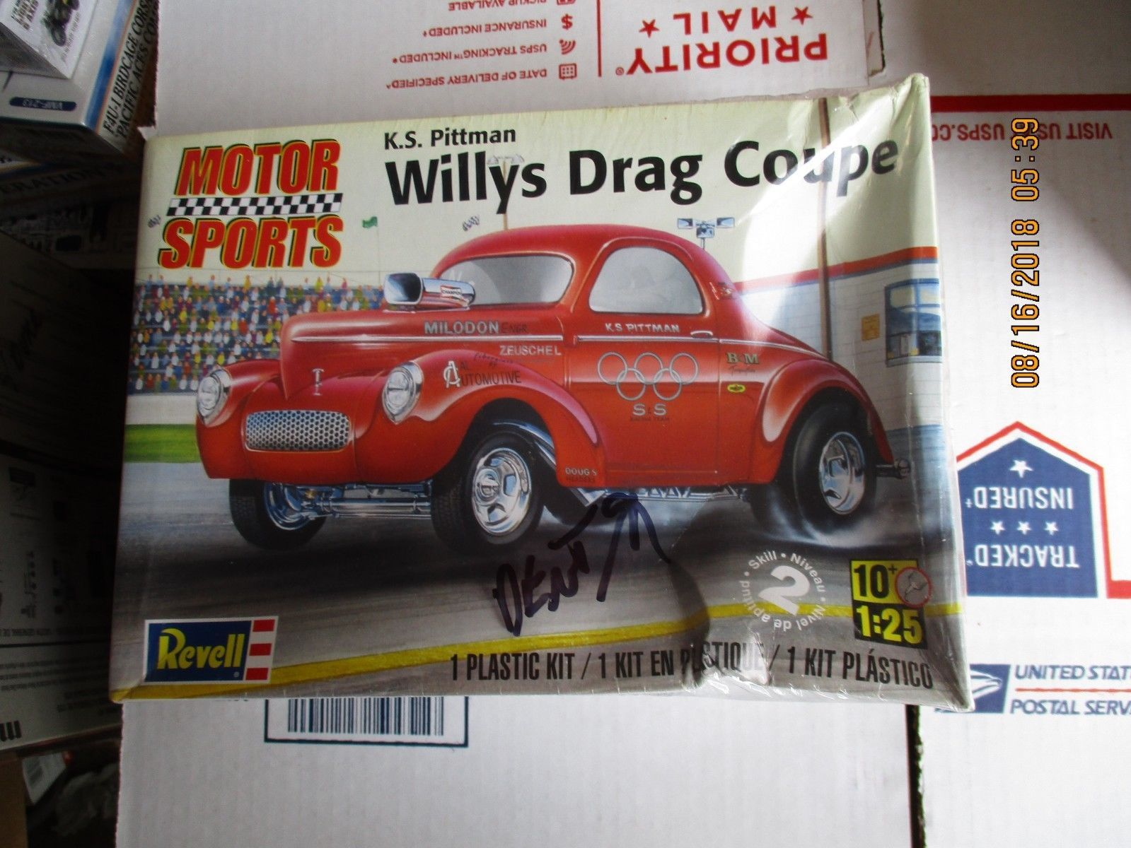Revell Willys Drag Gasser Coupe K.S. Pittman 1/25 scale