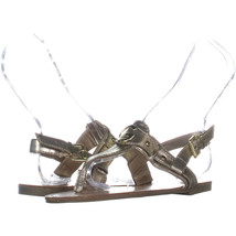 G by GUESS Lundon-X Ankle-Strap Sandals 822, Light Tan, 6.5 US - $17.27