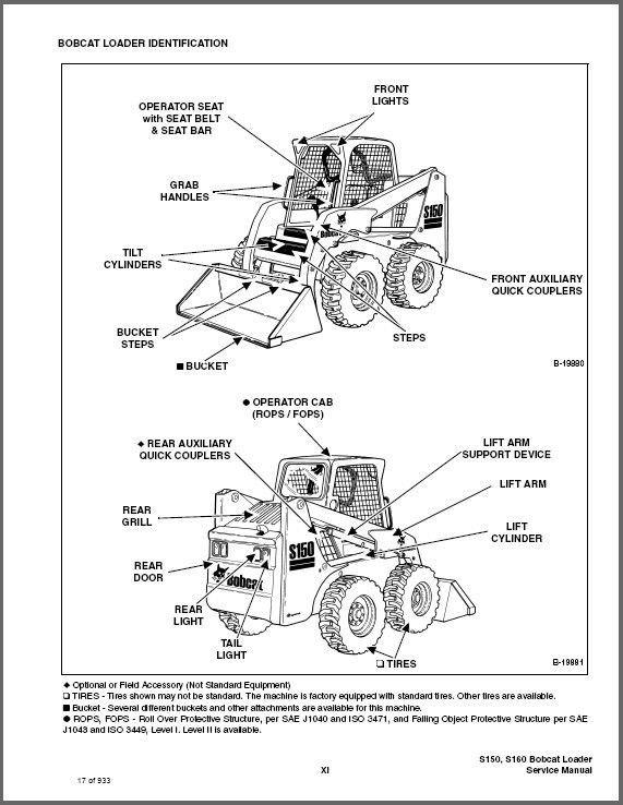 Bobcat S150 S160 Turbo Skid Steer Loader And 20 Similar Items
