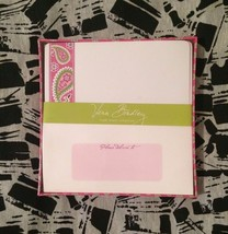 Vera Bradley Trade Winds Correspondence Cards Pink Paisley - $18.69