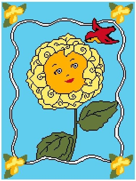 Primary image for Pretty Posie Crochet Graph Afghan Pattern
