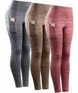 Neleus Womens Yoga Pant Running Workout Leggings with Pocket Tummy Contr... - £30.39 GBP+