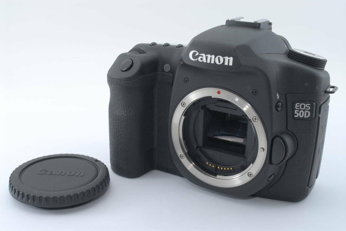 Canon EOS 50D 15.1 MP DSLR Camera Body - Black