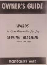Ward Montgomery Ward URR 285 E manual sewing machine - $9.99