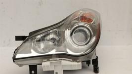 08-09 Infiniti EX35 Halogen HeadLight Lamp Driver Left LH image 2