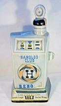 "Jim Beam 68 Decanter Harold's Club Reno Slot Machine 10.5"" Tall Nice Det... - $5.00"