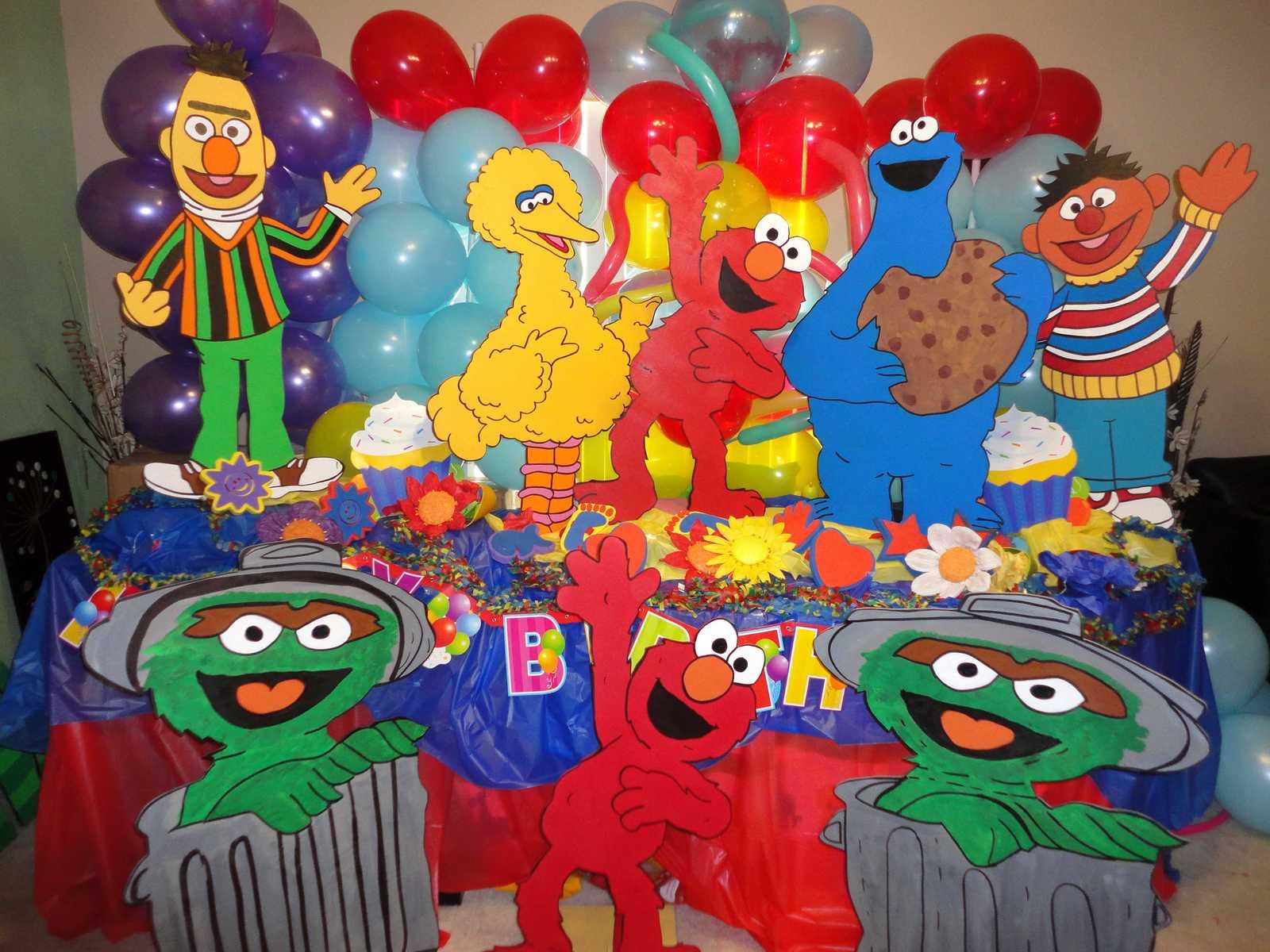 Vase Decoration Ideas 3 Feet Sesame Street Birthday Party And 27 Similar Items