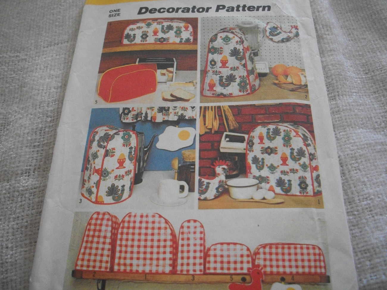 Primary image for Kitchen Accessories Pattern Simplicity 5495