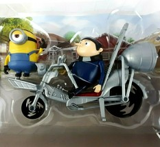 Minions THE RISE OF GRU Movie Moments PEDAL POWER GRU Playset Action Fig... - $19.99