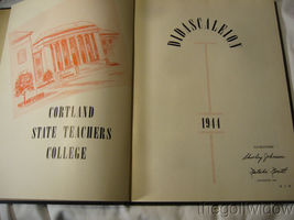 1944 Cortland State Teachers College Yearbook Didascaleion image 3