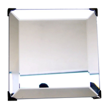 3.375 inch Beveled Square Mirror with Hanger image 1