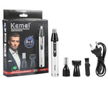 Kemei 3 In 1 Electric Nose Trimmer Rechargeable Shaver Men Hair Removal Nose Ear