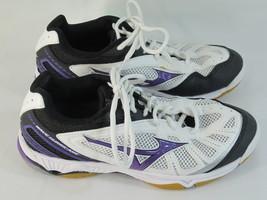Mizuno Wave Hurricane Indoor Court Shoes Women's Size 8.5 US Excellent Plus - $33.87