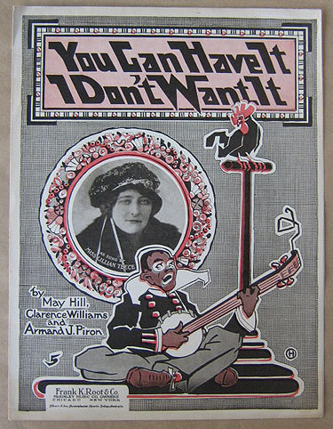 You Can Have It I Don't Want It (Sheet Music, 1918)