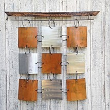 Abstract Metal Wall Art Modern Sculpture home decor by Holly Lentz - $299.00