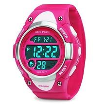 Girls Boys Digital Watch - Kids Sports Waterproof Outdoor Watches with Alarm Sto
