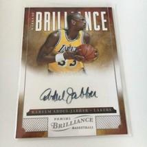 NBA card 2012-13 Panini KAREEM ABDUL JABBAR Autograph / signature - $305.91