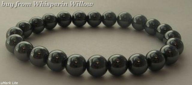 Hematite stretch bracelet 1