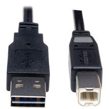 Tripp Lite A-male To B-male Reversible Usb 2.0 Cable (6ft) TRPUR022006 - $11.37