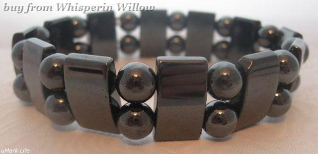 Primary image for Super Double Strand Magnetic Hematite Bracelet