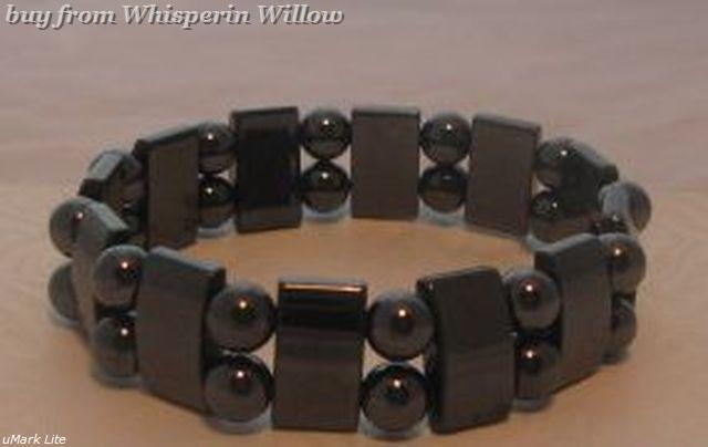 Super Double Strand Magnetic Hematite Bracelet