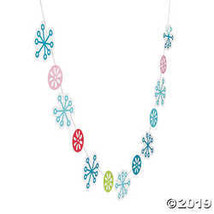 Mod & Merry Snowflake Garland - $5.49