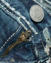 Grace In LA Embellished Pockey Grace Denim Girl Jeans Size 7 image 5