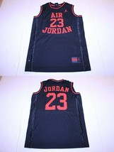 Youth Air Jordan #23 YL Embroidered Jersey (Black) Nike - $15.88