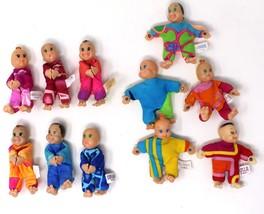 Vintage Corgi Lil Handvoll Baby Puppen Lot Of 11 - $44.06