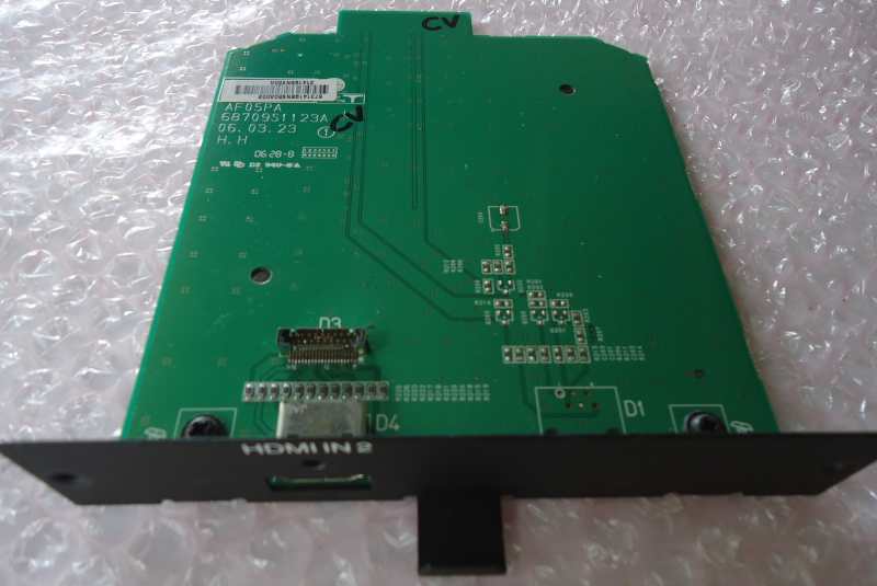 Lg 42PX7DC Hdmi Input Board Part# AF05PA, and 50 similar items