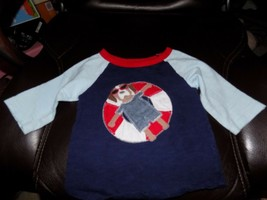 MUD PIE Applique Dog Pool Shirt Size 12/18 Months Boy's EUC - $15.60