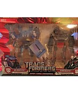 Transformers Super Tuner Throwback Blowpipe and Sideways Autobot and Dec... - $42.00