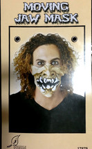 Punk Horror HALF FACE MASK-JAW MOVES Halloween Cosplay costume Accessory... - €5,02 EUR