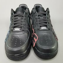 Nike Air Force 1 Low x CPFM Athletic Shoes Mens Size 8.5 Black Blue Red Sunshine image 3
