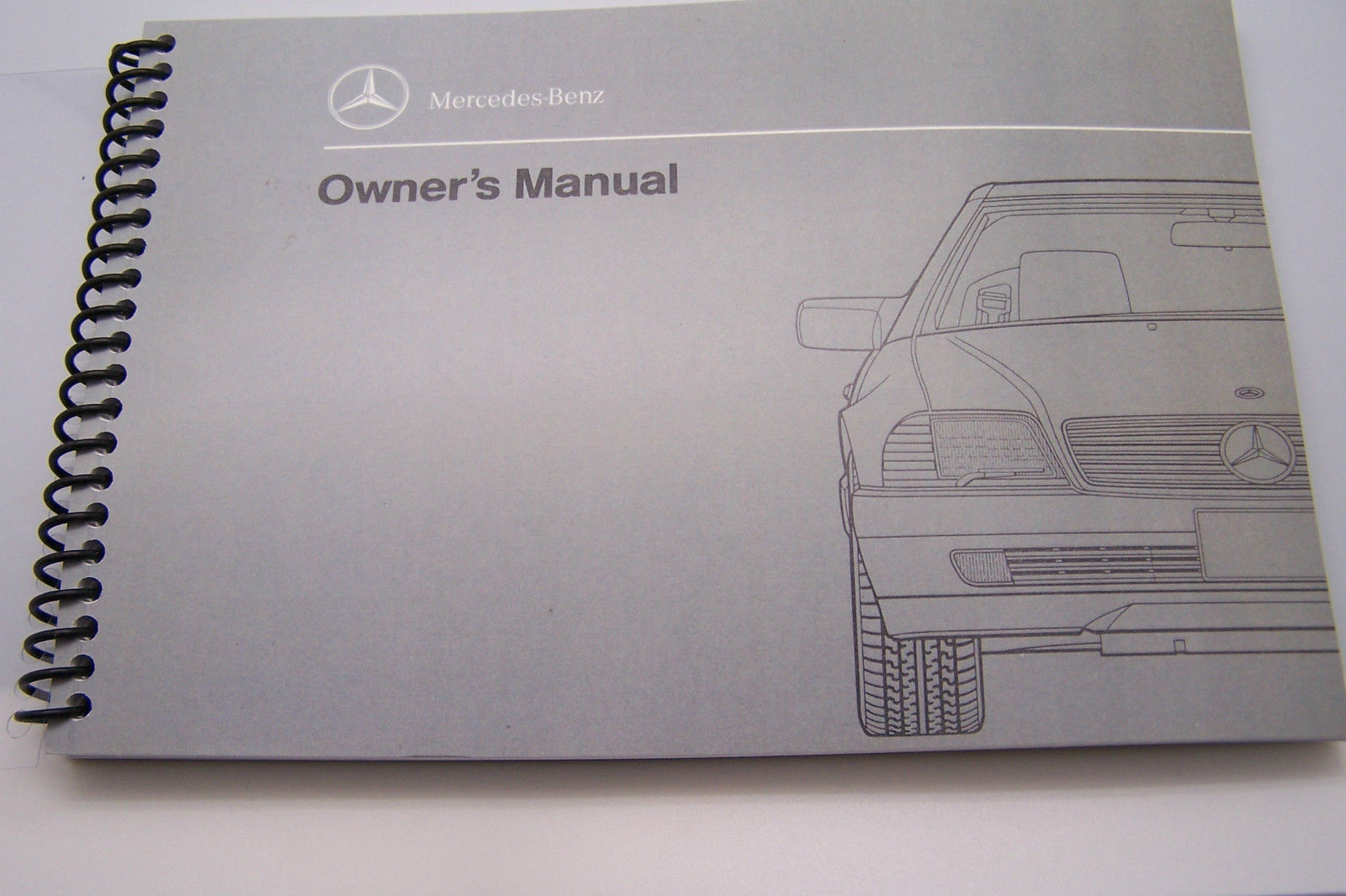 1992 1991 1990 Mercedes 500SL 300SL Owners Manual Parts W129 Service  reprint - $52.46