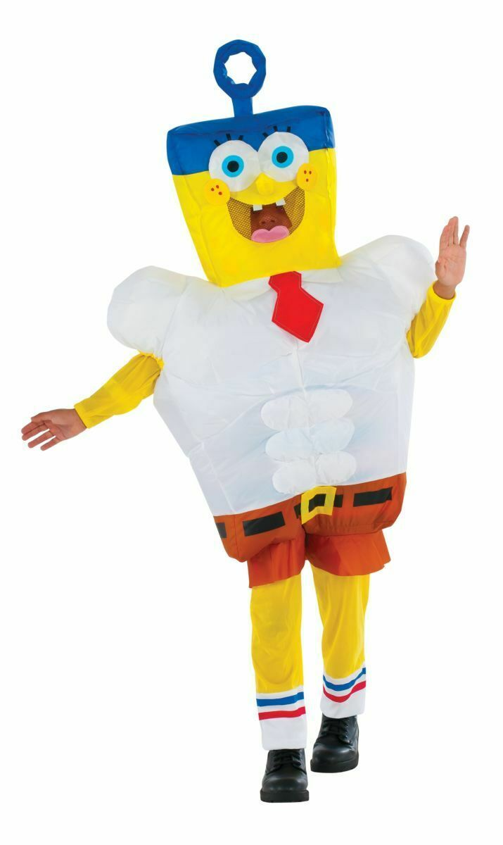 Rubies Aufblasbar Invincibubble Spongebob Film Kinder Halloween Kostüm 610809