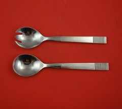 Parallel by Georg Jensen Sterling Silver Salad Serving Set 2pc HH WS Ori... - $359.00