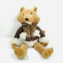 "Bath and Body Works Hickory Puffer Jacket Fox Plush Stuffed Animal Woodland 10"" - $19.79"