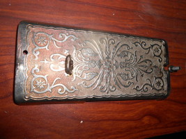 Singer 99-13 Face Plate w/Screws 1923 Pattern #33608 w/Screw #190B - $15.00