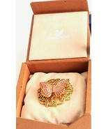 Swarovski ~ 2002 Beauty - Butterfly Brooch Pin ~ Mint With Box  - $161.81 CAD