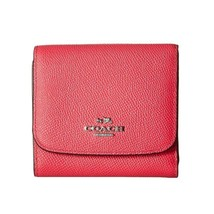 Coach Crossgrain Leather Small Trifold Leather ... - $67.32