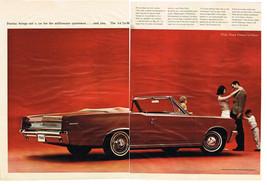Vintage 1964 Two Page Magazine Ad for Pontiac Le Mans for Millionaire Sportsman - $5.93