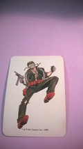 SERGEANT ROCK 1989 DC Comics Role Play Game Card - $15.00