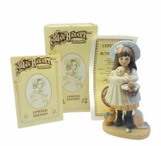 Jan Hagara figurine vtg limited edition 1985 Victoria bunny Easter doll ... - $29.65
