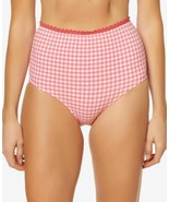 Jessica Simpson Printed High-Waist Bottoms Women's Swimsuit (Pink, M) - $37.90