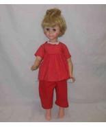 """So Sweet Vintage 21"""" EEGEE Plastic Girl Doll - $67.54"""